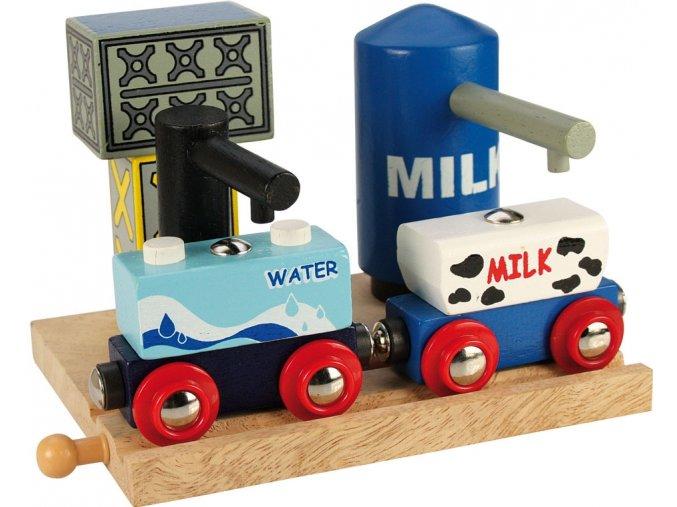 Skladiště mléka a vody - Bigjigs 70187