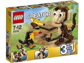 LEGO® Creator Zvířátka z džungle