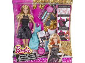 Barbie třpytivé studio