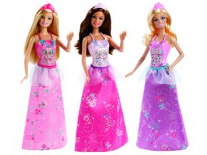Barbie princezna měnitelné prvky