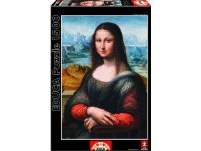 Puzzle Muzeum Prado Giaconda 1500 dílků