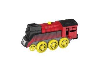 Elektrická lokomotiva - červená - nákladní Maxim 50860