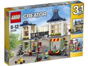 LEGO® Creator Obchod s hračkami a potravinami