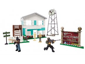 Mega Bloks Call Of Duty městečko nuketown