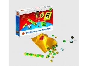 Samohlásky a souhlásky společenská hra