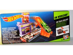 Hot Wheels Track Builder Garáž SUPER DROP