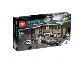 LEGO Speed Champions Zastávka v boxech pro McLaren Mercedes