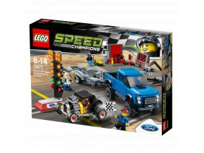 LEGO Speed Champions Ford F-150 Raptor a Ford Model A Hot Rod