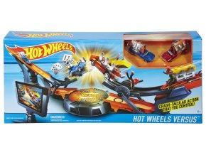 Hot Wheels dráha ty proti soupeři