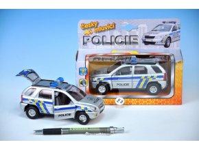 Auto policie česky mluvící