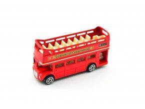 Patrový autobus Londýn s otevřenou střechou