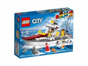 LEGO® City Rybářská loďka
