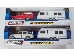 Jeep s karavanem