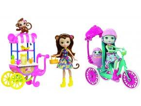 Enchantimals herní set na kolech