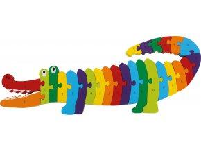 puzzle Krokodyl ABC