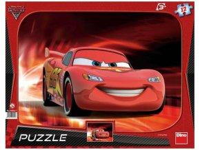 Puzzle Cars 2: Blesk McQueen 12 dílků