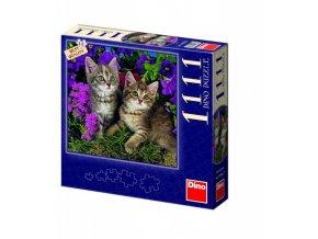 Puzzle 1111 dílků Koťata