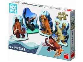 Puzzle 2 x 54 dílků Doba ledová 4