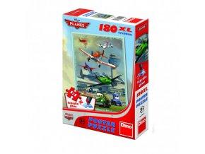 Poster puzzle 180 dílků Letadla: Hladké přistání