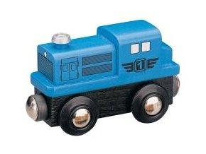 Dieselová lokomotiva - modrá - Maxim 50812