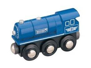 Parní lokomotiva - modrá - Maxim 50813