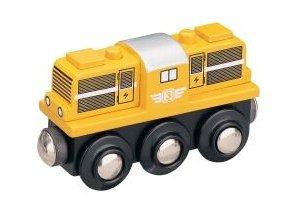 Dieselová lokomotiva - žlutá - Maxim 50814