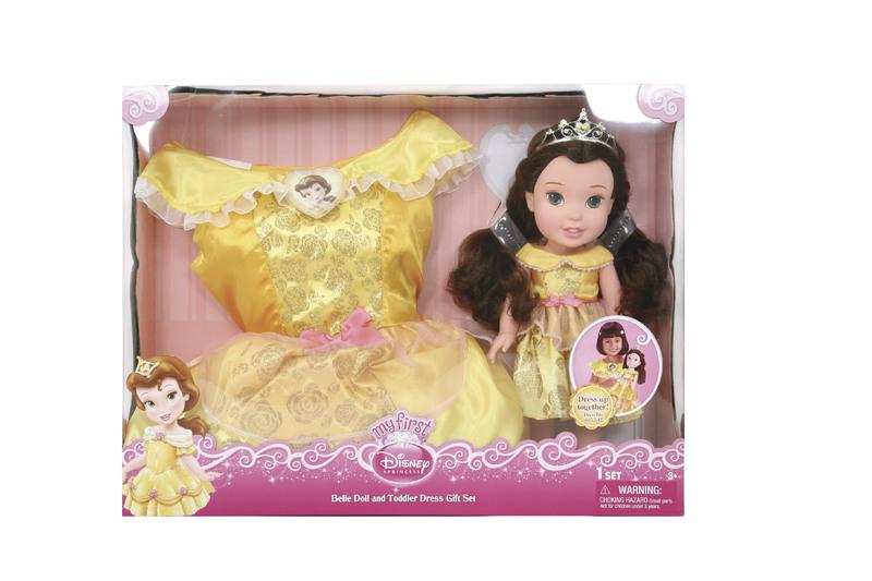 Disney princezna a dětské šaty - Bella/Kráska
