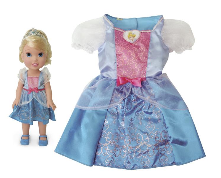 8541b86a549d Disney princezna a detske saty popelka levně