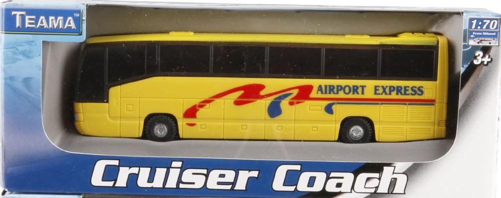 Autobus 1:70 barva: žlutý