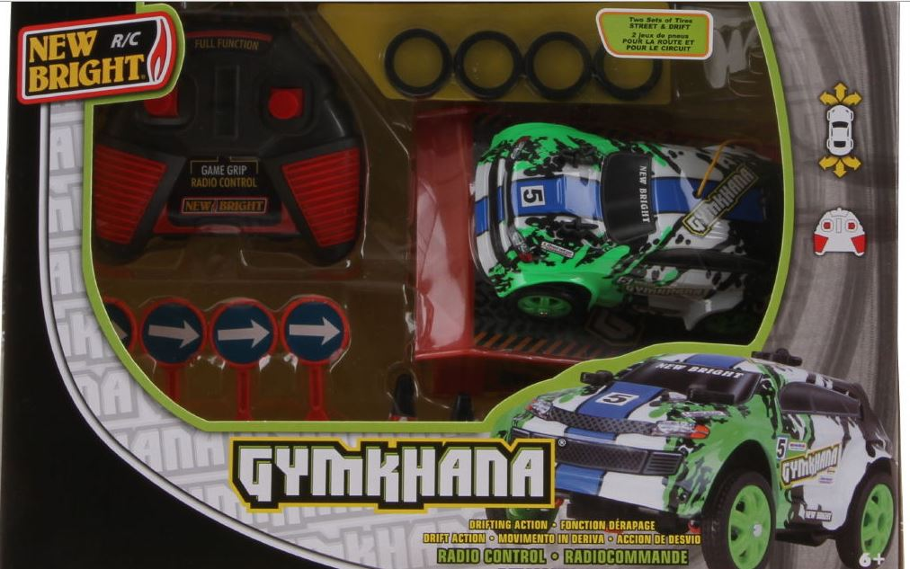 Image of RC auto Gymkhana 1:36