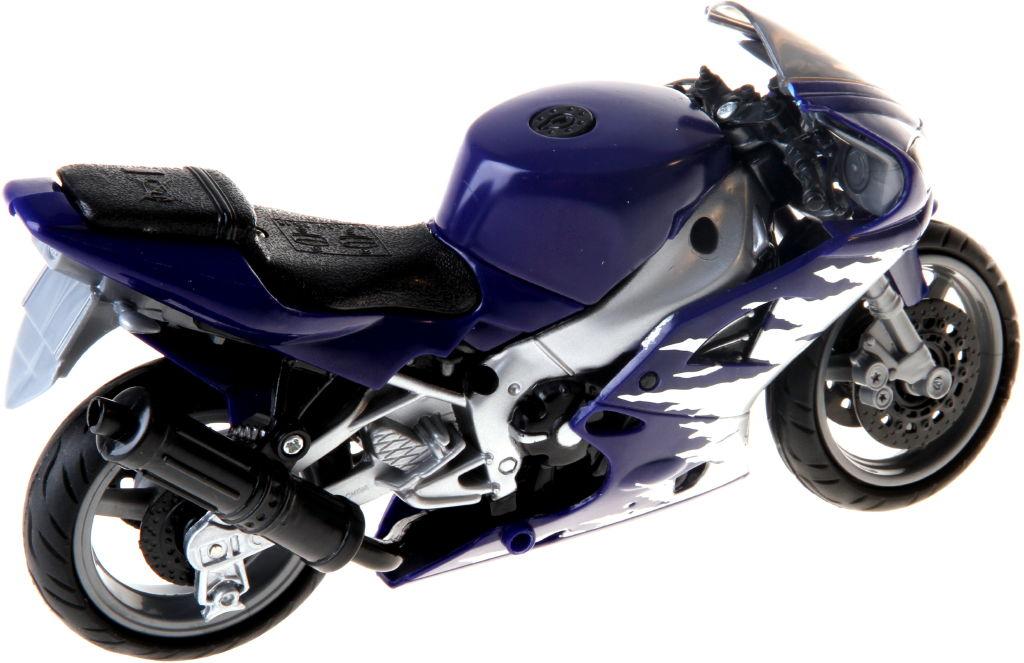 Motorka se zvukem barva motorky: modrá