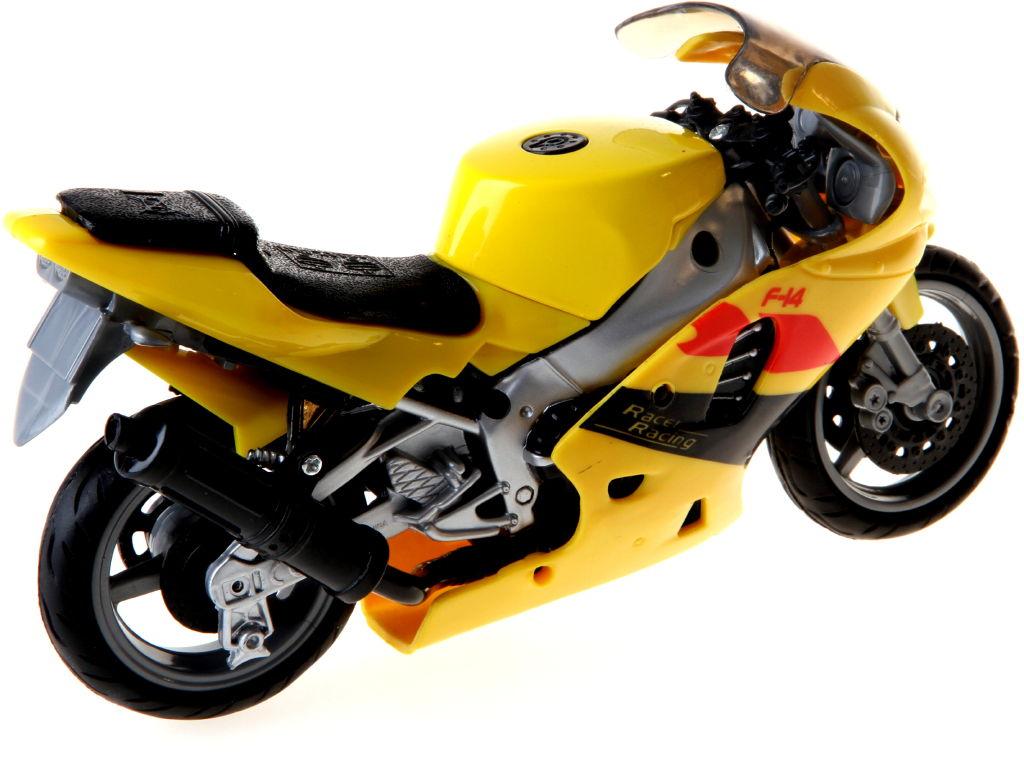 Motorka se zvukem barva motorky: žlutá
