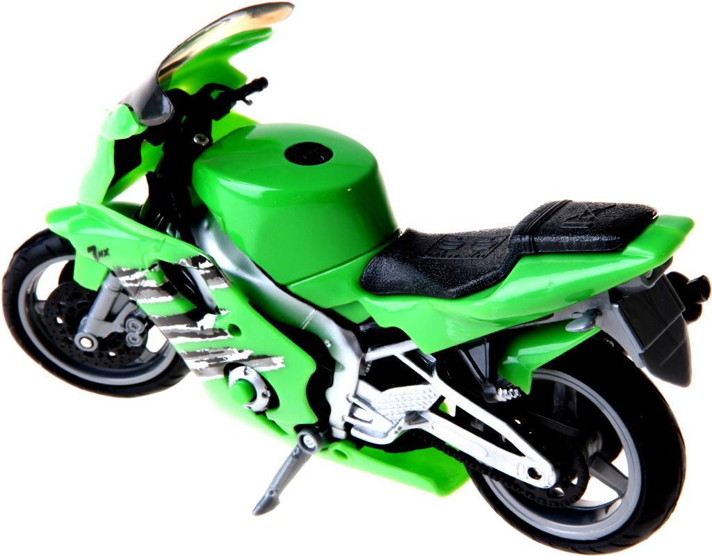 Motorka se zvukem barva motorky: zelená
