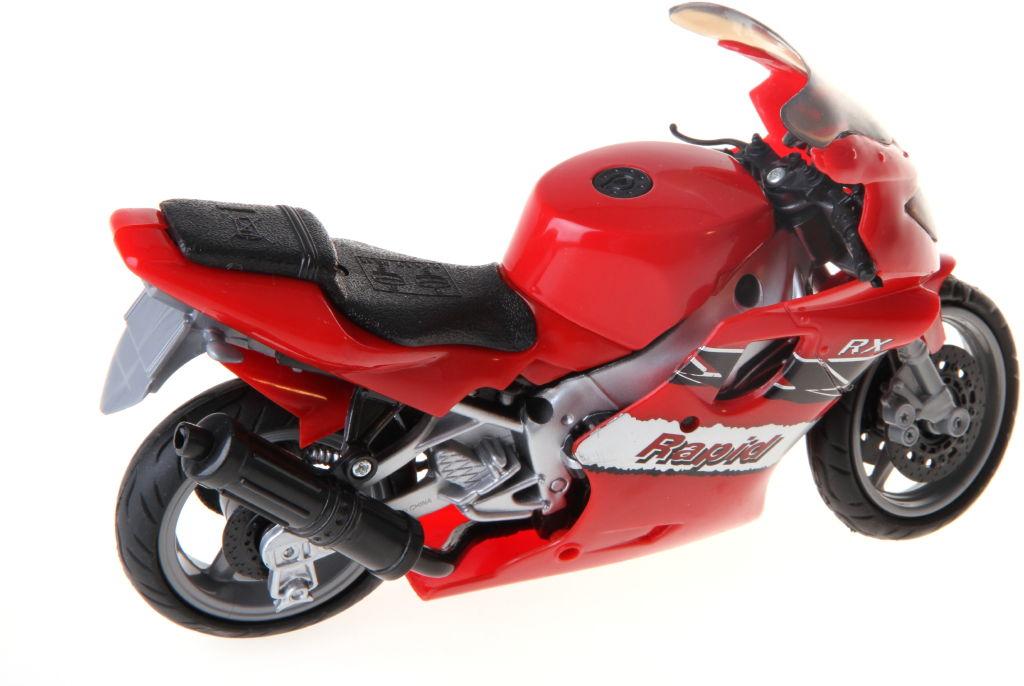 Motorka se zvukem barva motorky: červená