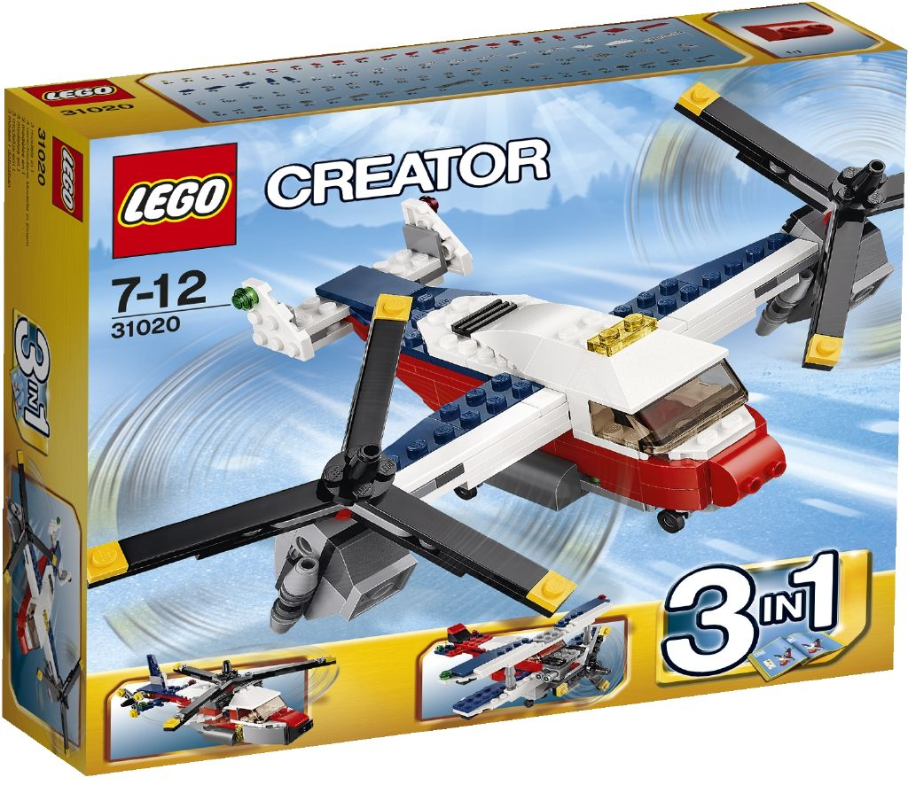 LEGO Creator Dobrodružství se dvěma vrtulemi