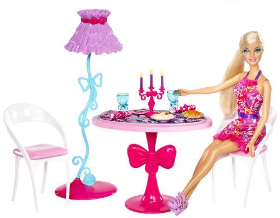 Barbie panenka a nábytek Nábytek: jídelna