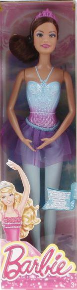 MATTEL Barbie Balerína měnitelné prvky Barbie: Černovláska