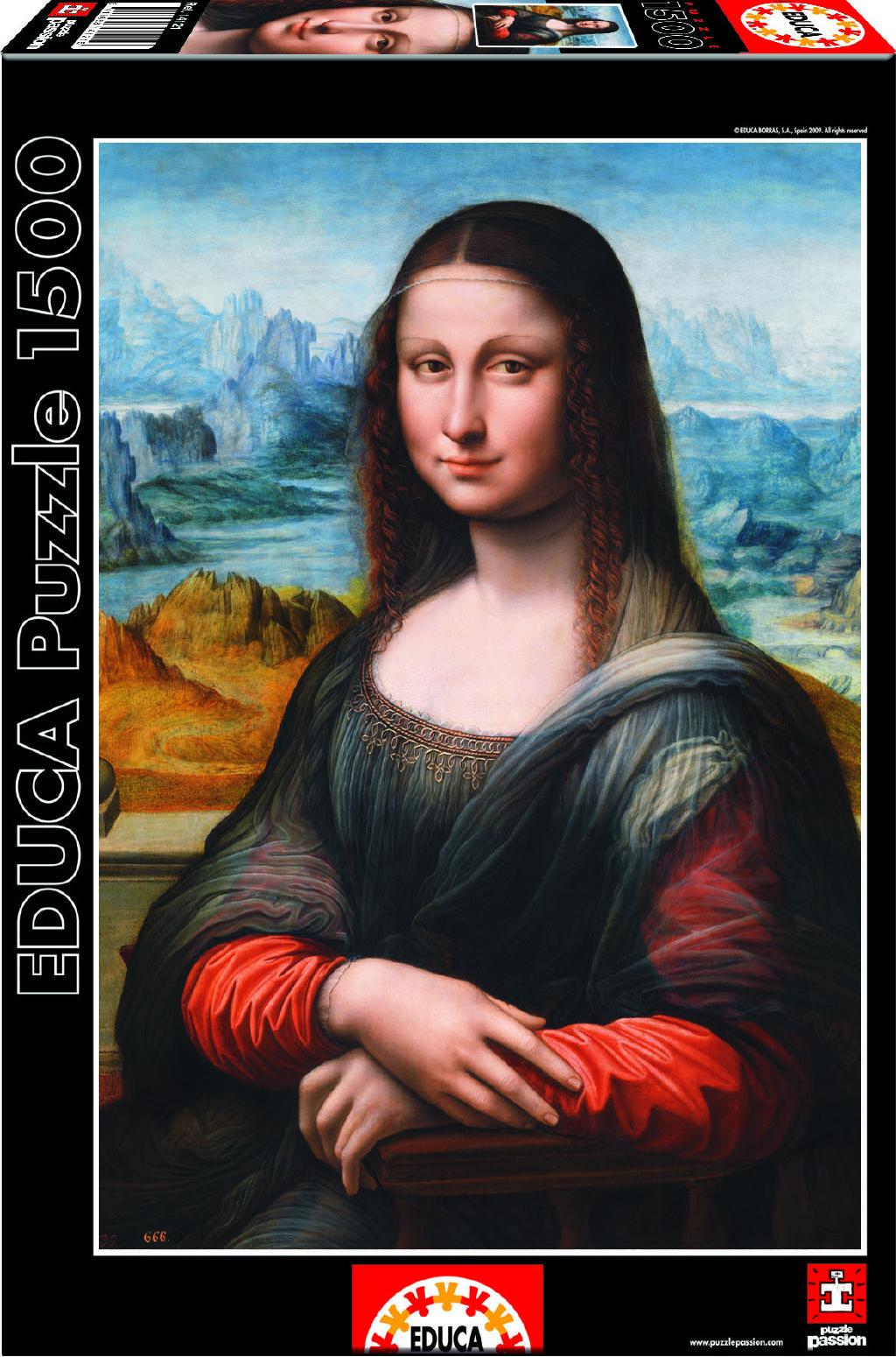 Image of Puzzle Muzeum Prado Giaconda 1500 dílků