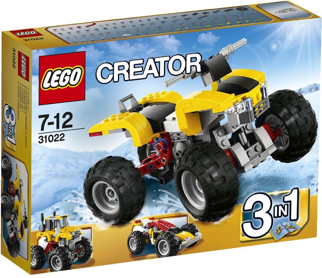 LEGO Creator Turbo čtyřkolka