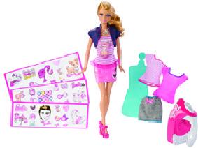 Mattel Barbie tričková móda