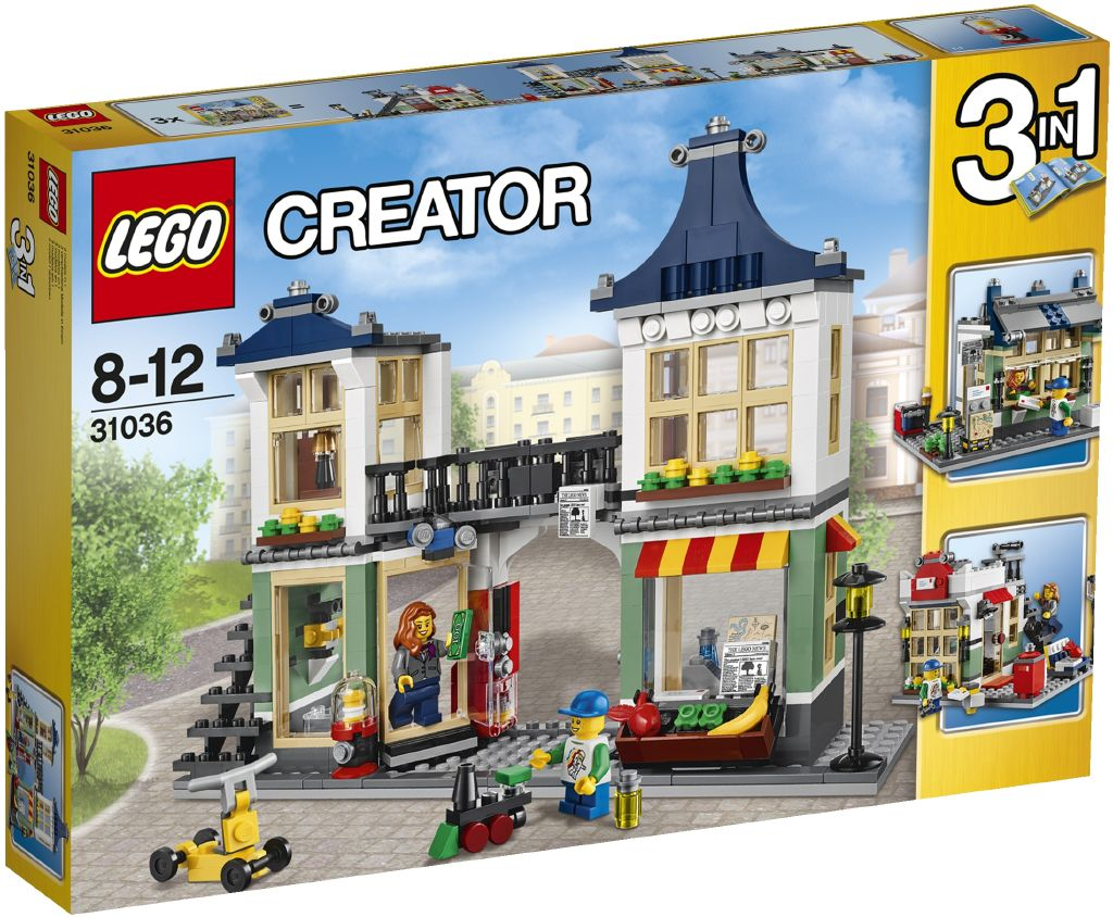 LEGO Creator Obchod s hračkami a potravinami