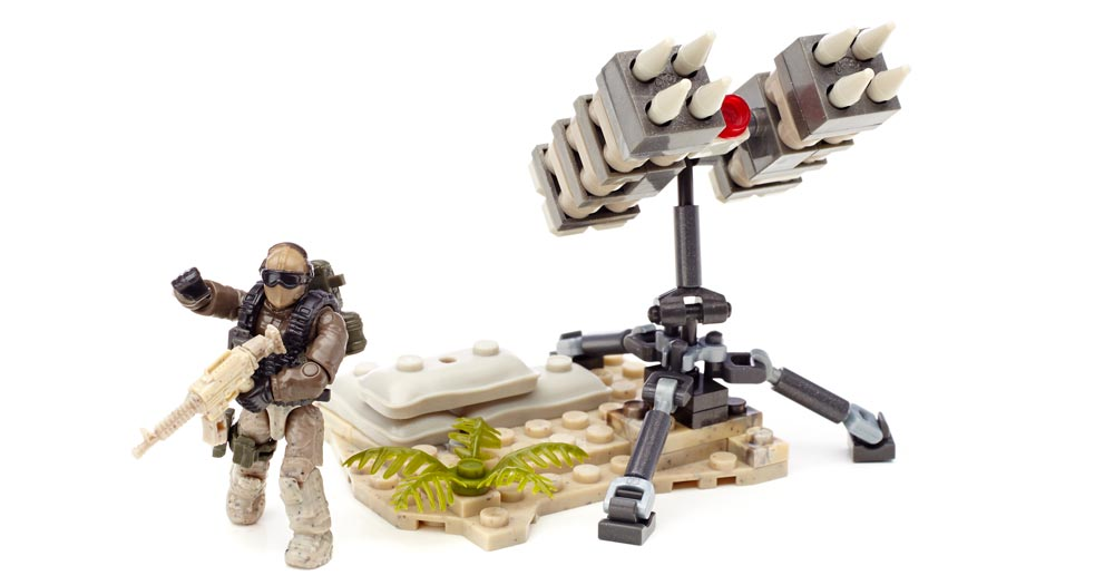 Mega Bloks Call Of Duty Sam Turret