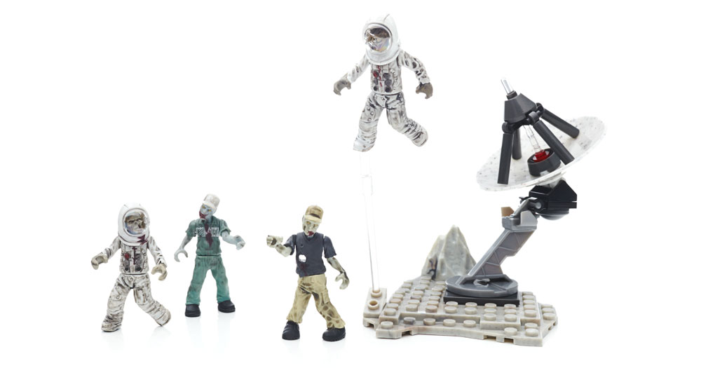 Mega Bloks CALL of DUTY ZOMBIES MOON MOB