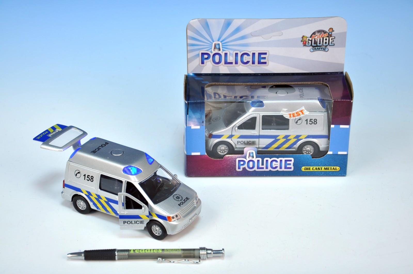 Auto policie kov 14cm