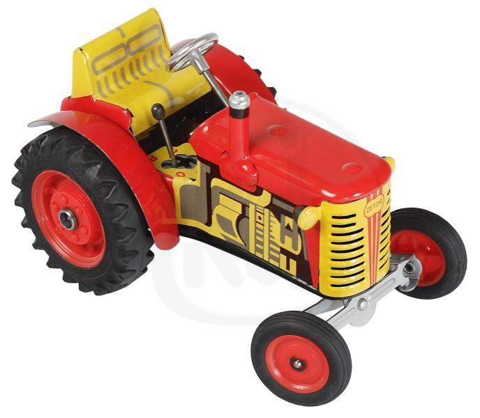 Kovap traktor Zetor červený