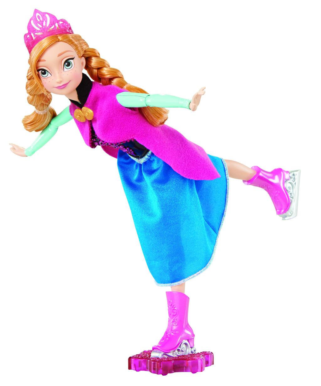 Mattel Disney Frozen bruslařka Anna