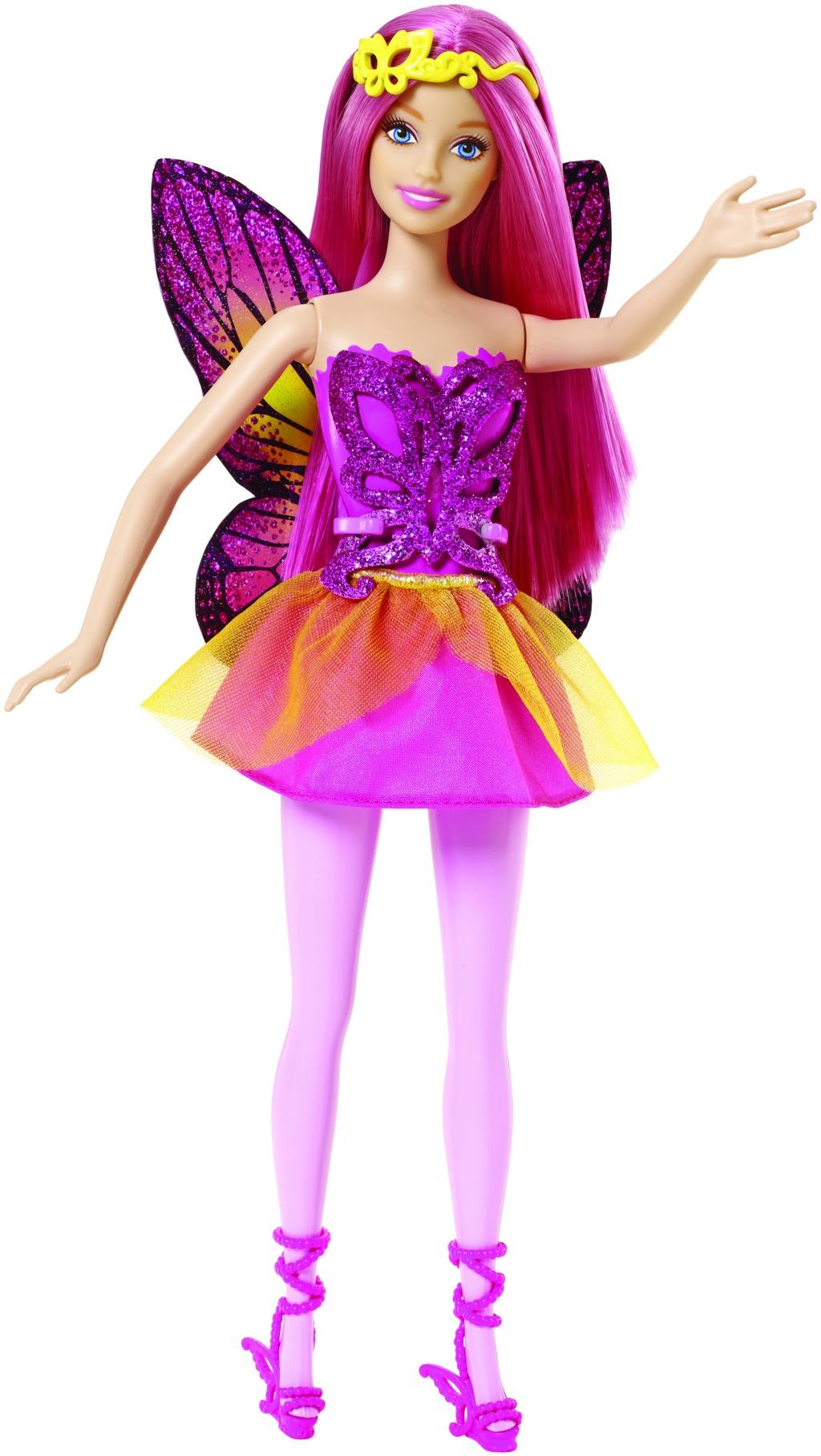 Mattel Barbie Víla Barbie víla: růžová
