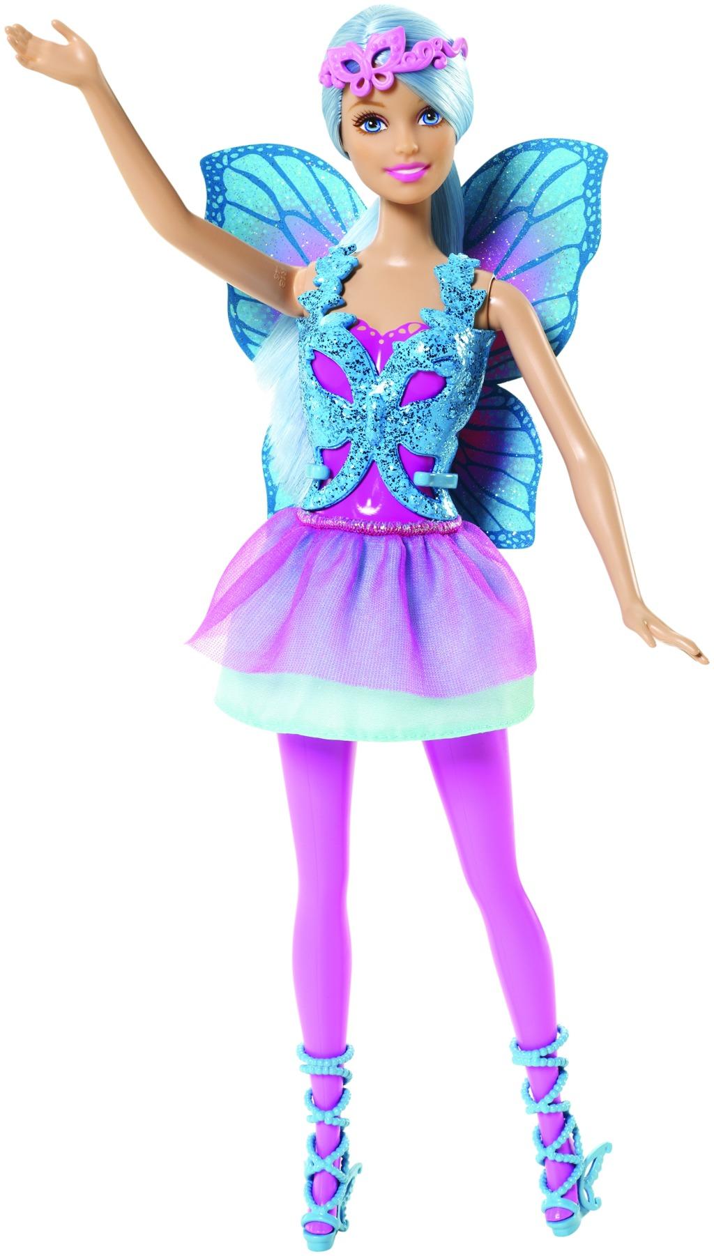 Mattel Barbie Víla Barbie víla: tyrkysová