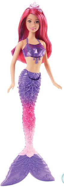 Mattel Barbie mořská panna Barbie mořská panna: fialová