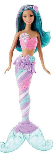 Mattel Barbie mořská panna Barbie mořská panna: tyrkysová